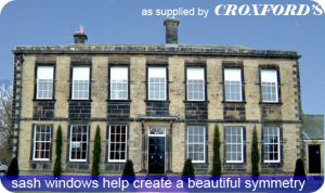 Sash Windows supplied by Croxfords